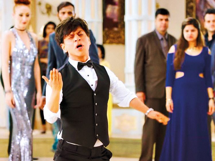 Shah Rukh Khan in a still from his movie Zero
