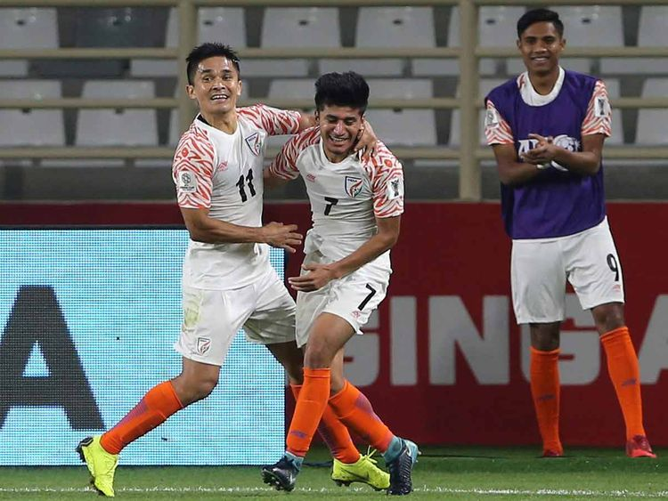 Sunil Chhetri India vs Thailand 06012019