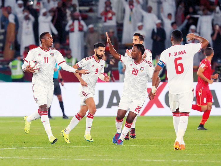 UAE forward Ahmad Khalil