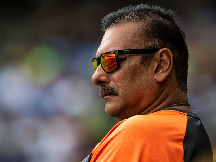 Head coach of the Indian cricket team Ravi Shastri