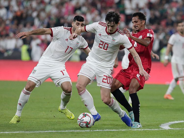 football asia cup yemen iran