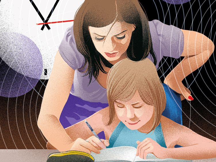 Modern parenting Stress, exhaustion and guilt