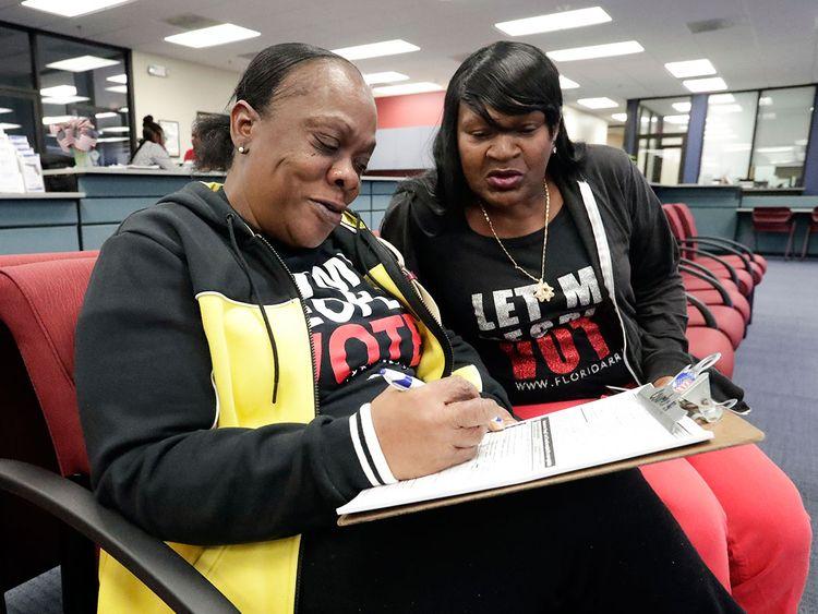 florida voting rights for felons Yolanda Wilcox