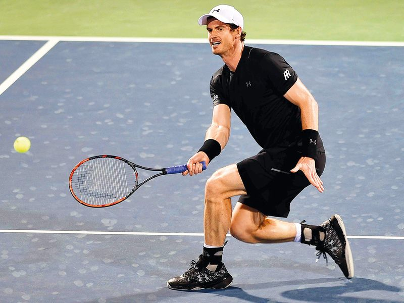 Former world No.1 Andy Murray