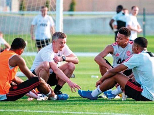 Manchester United boss Ole Gunnar