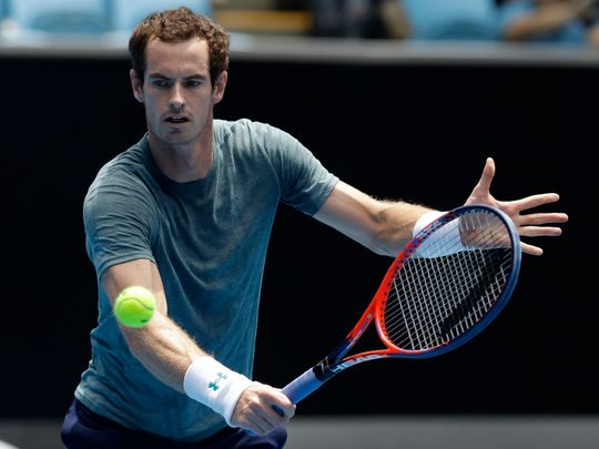 Andy Murray, famous tennis player in the world