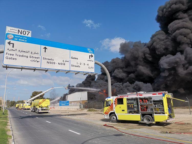Video: Fire erupts at a factory in Dubai | Uae – Gulf News