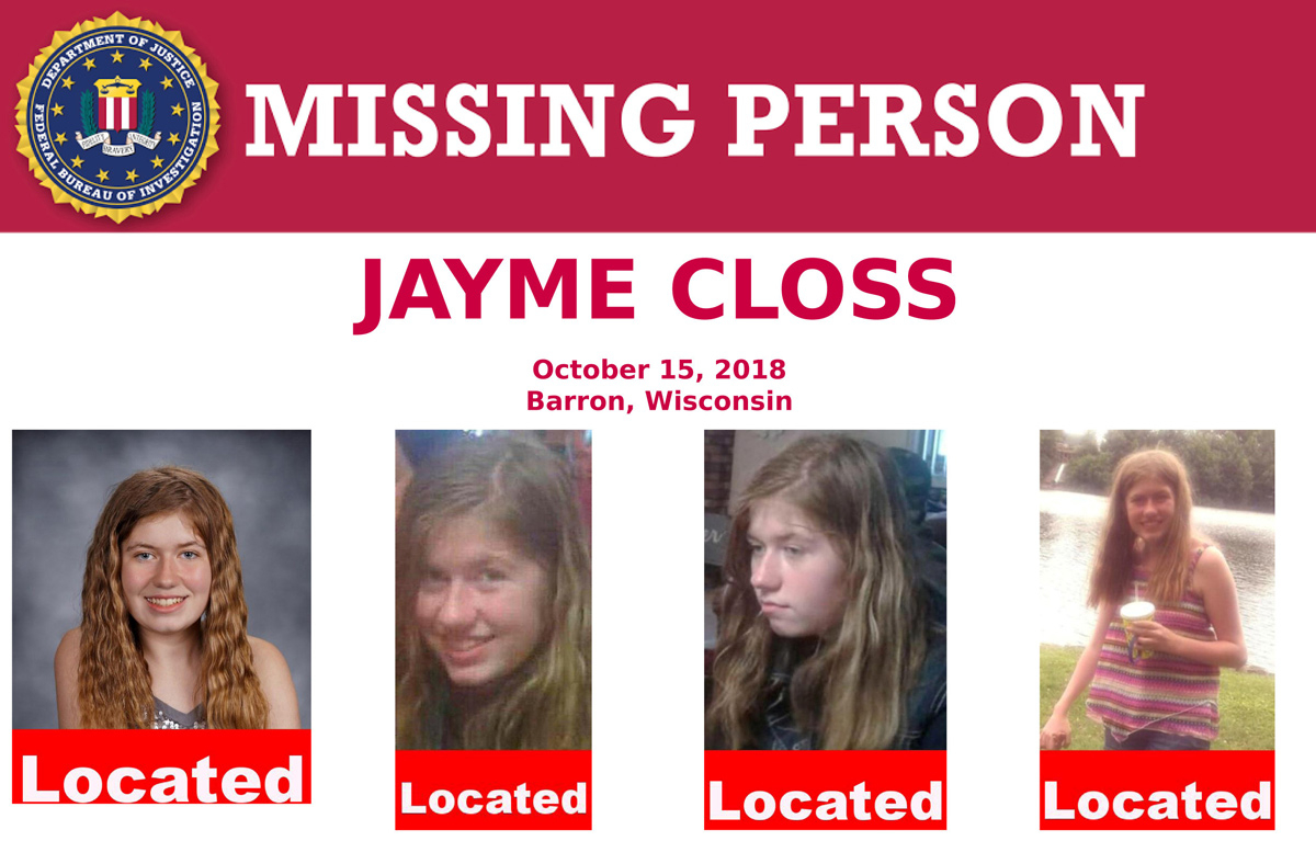 2019-01-12T001407Z_131616897_RC1DCC321630_RTRMADP_3_WISCONSIN-MISSINGGIRL-SURVIVAL-(Read-Only)