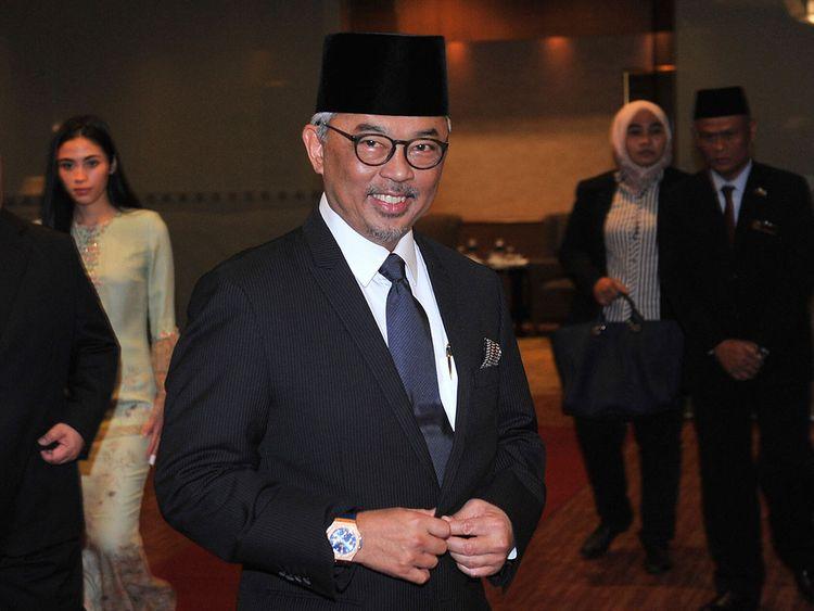 Pahang state Crown Prince Tengku Abdullah 12012019