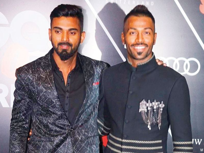 Lokesh Rahul and Hardik Pandya