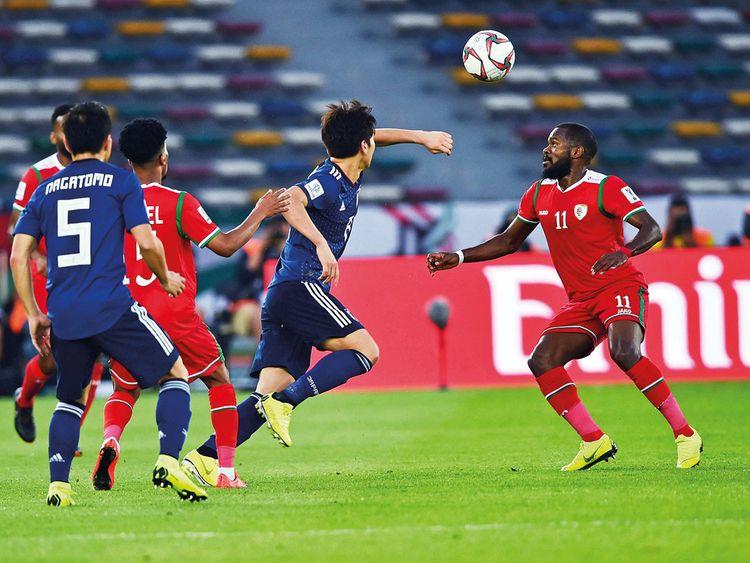 Oman player Saad Al Mukhaini