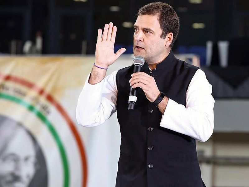 Rahul Gandhi addresses Indian diaspora
