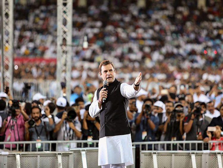 Rahul Gandhi addresses diaspora