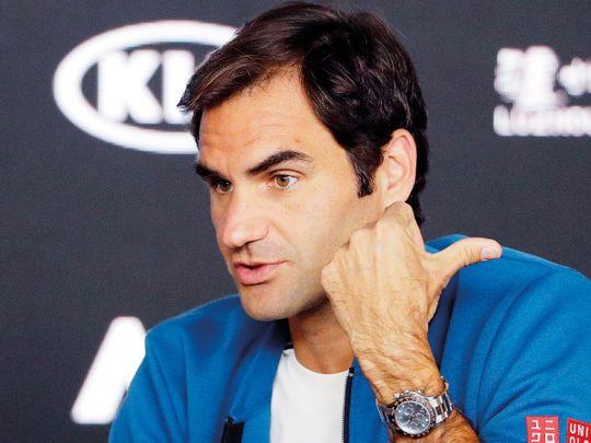 Roger Federer speaks