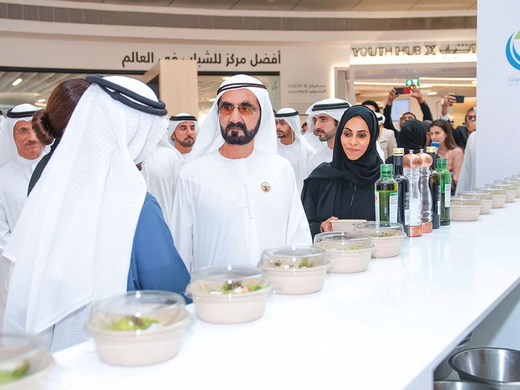 Shaikh Mohammad reviews the results