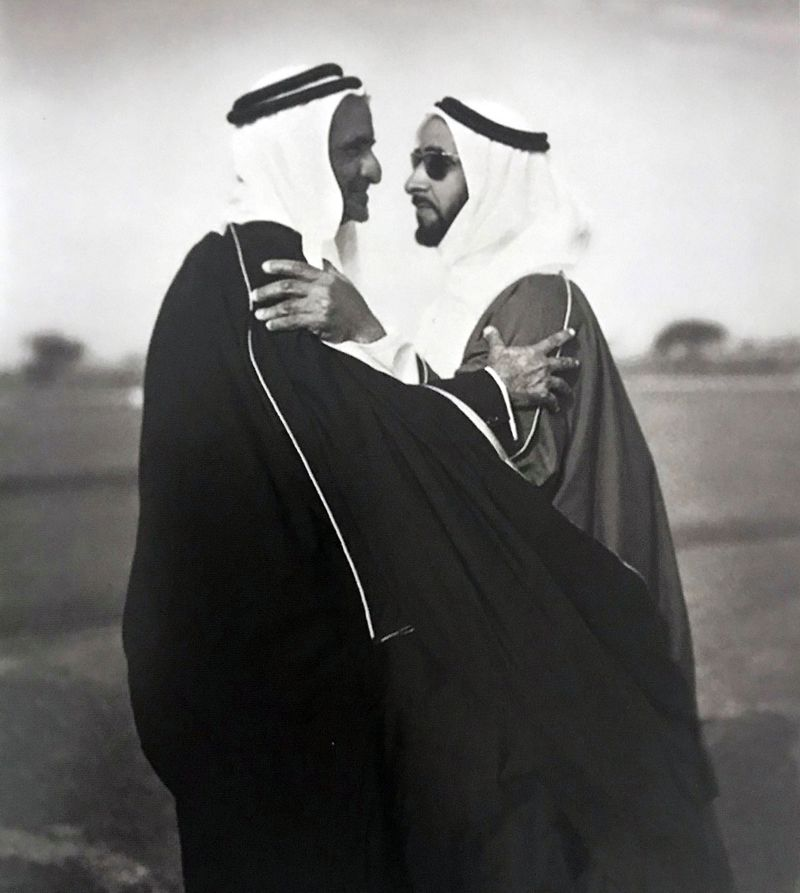 20. FATHER WITH SHAIKH ZAYED