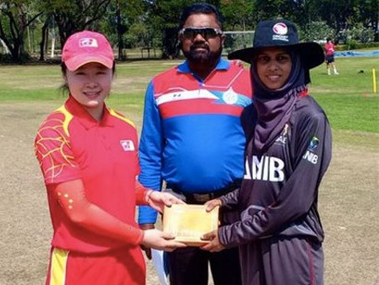 China cricket hopes stumped by record T20 loss against UAE