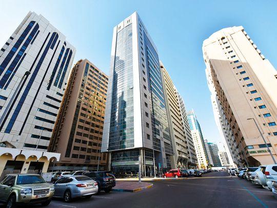 Electra Street in Abu Dhabi