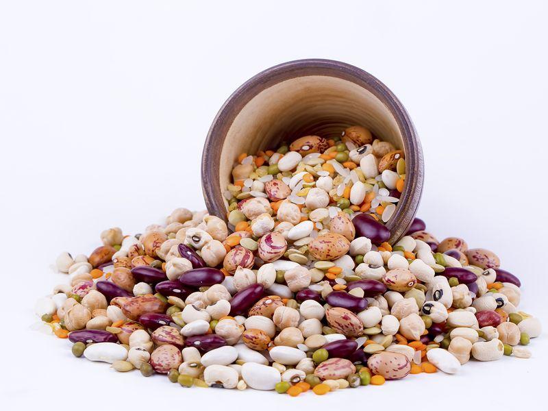 Legumes folate