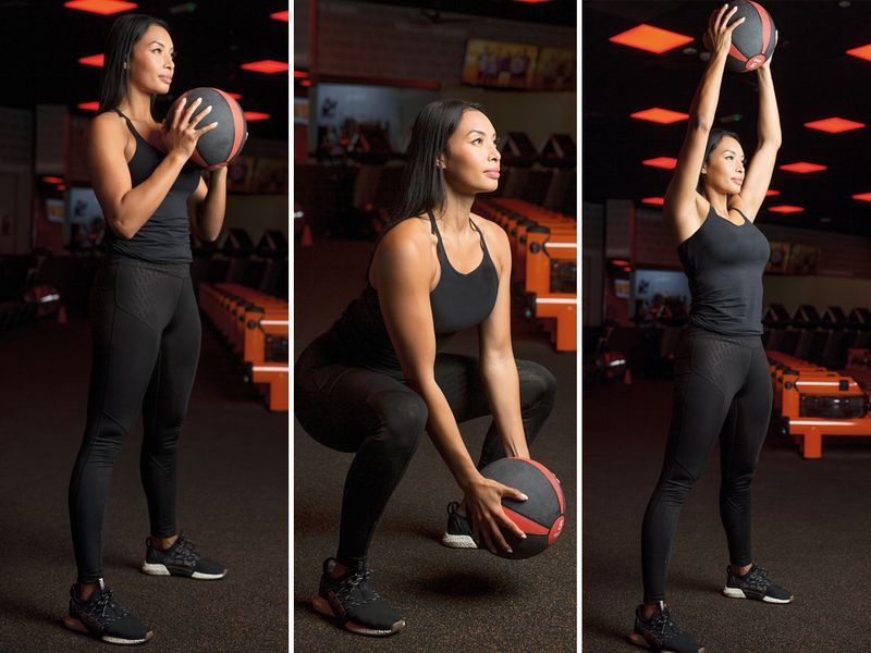 Medicine Ball Ground-to-Press