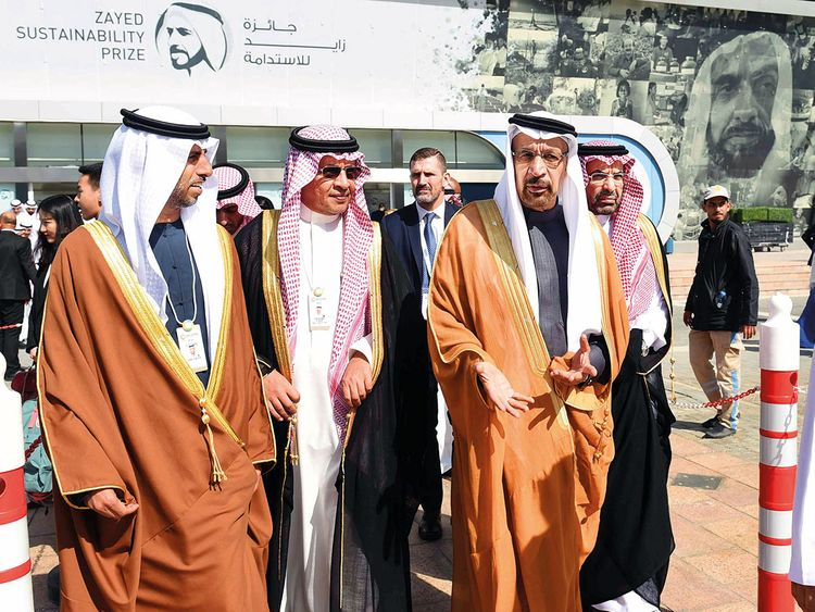 UAE Minister of Energy and Industry Suhail Mohammad Al Mazroui