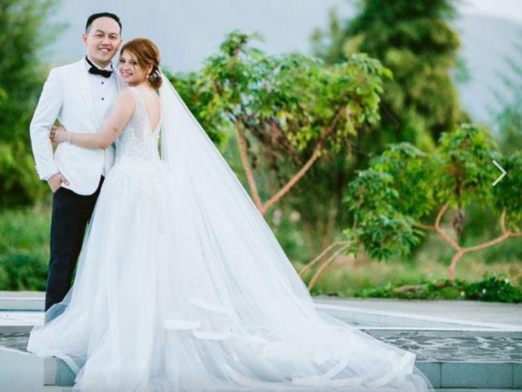 filipino newlyweds