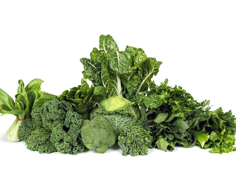 green vegetab;es