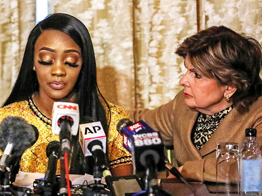 R Kelly accuser Faith Rodgers says he wrote letter