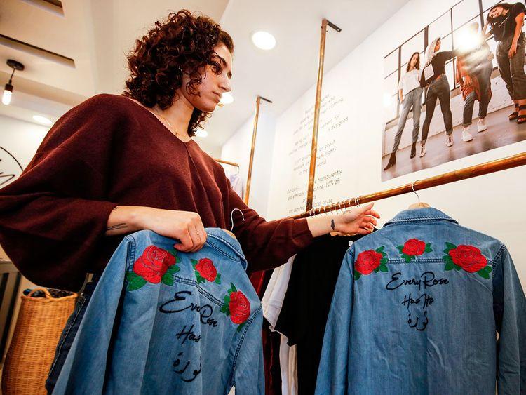 Fashion designer Yasmeen Mjalli