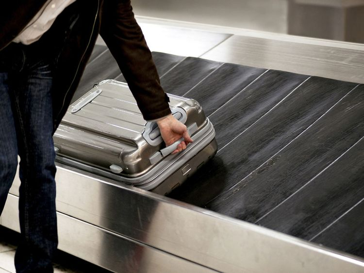 Luggage theft