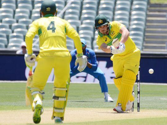 Australia's Aaron Finch