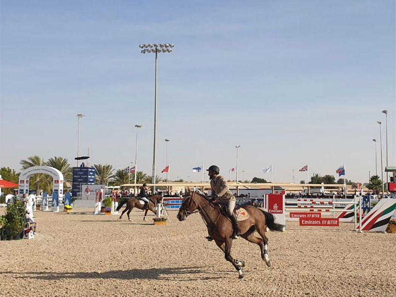 Dubai Show Jumping Championship CSI5 W World Cup Arab League