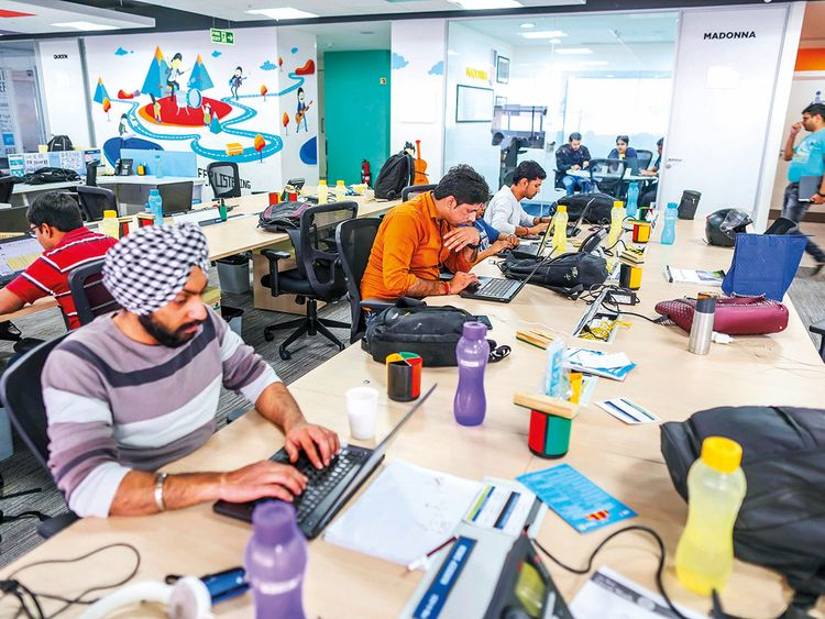 The Flipkart Online Services Pvt. headquarters in Bengaluru