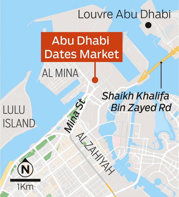 Abu Dhabi Dates Market