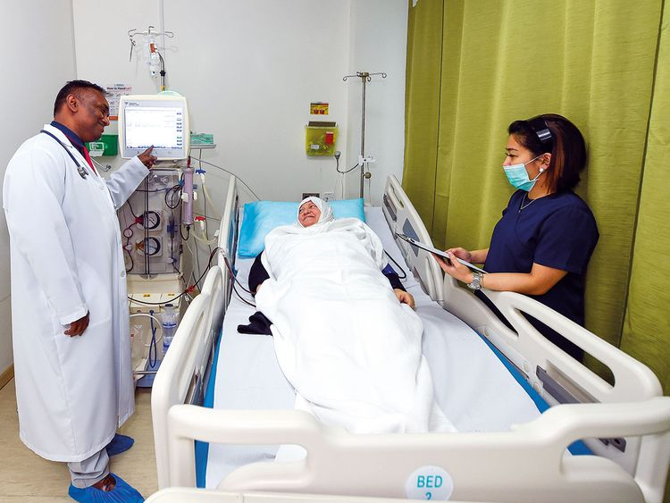 Free dialysis for underprivileged kidney patients in UAE