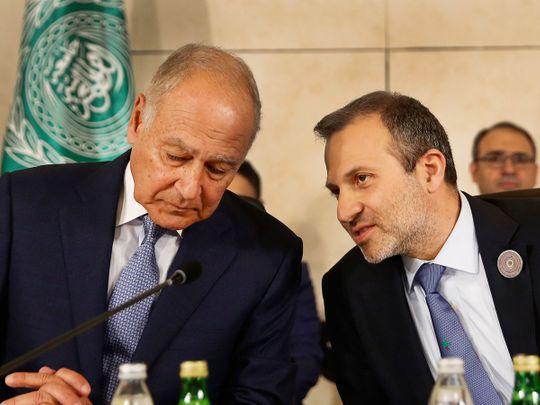 Lebanese Prime Minister Gibran Bassil