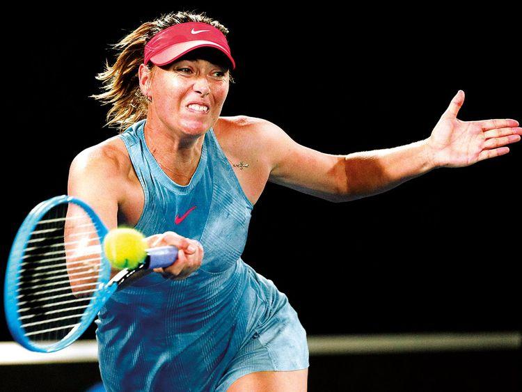 Russia's Maria Sharapova