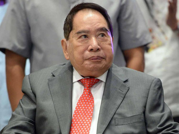 Philippine property tycoon Henry Sy 19012019