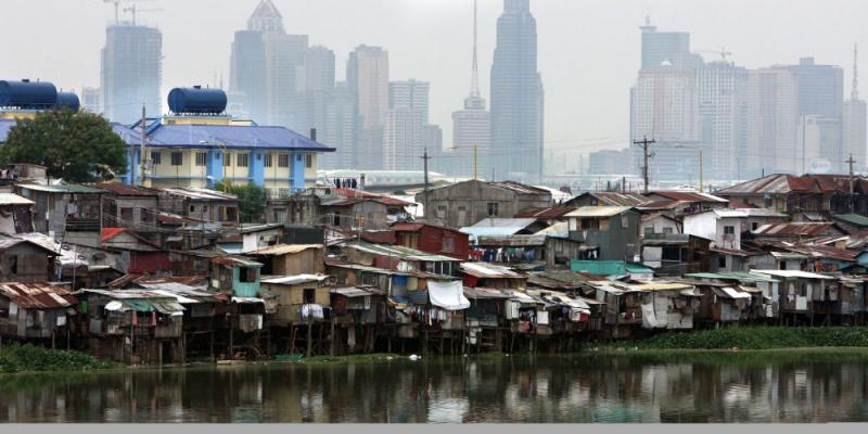 1.4 million informal settlers in the Philippines 091