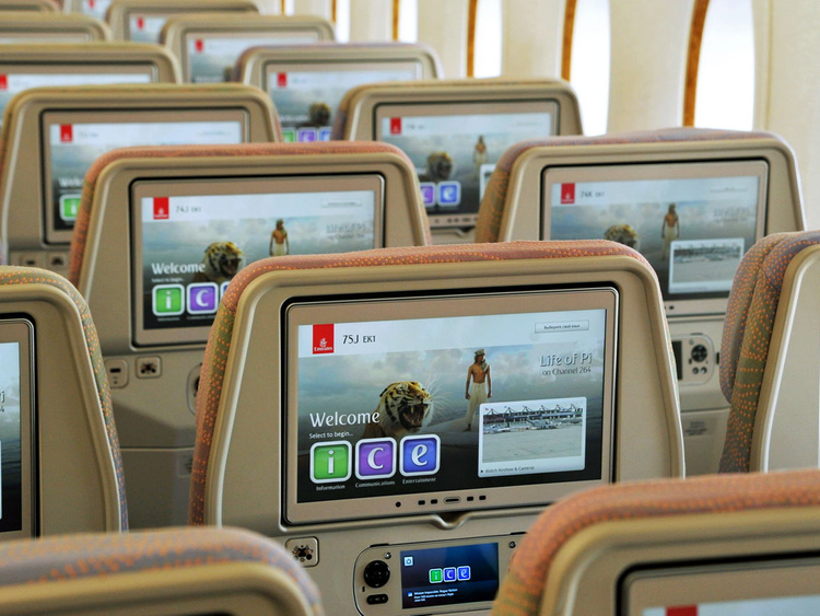 Emirates inflight entertainment