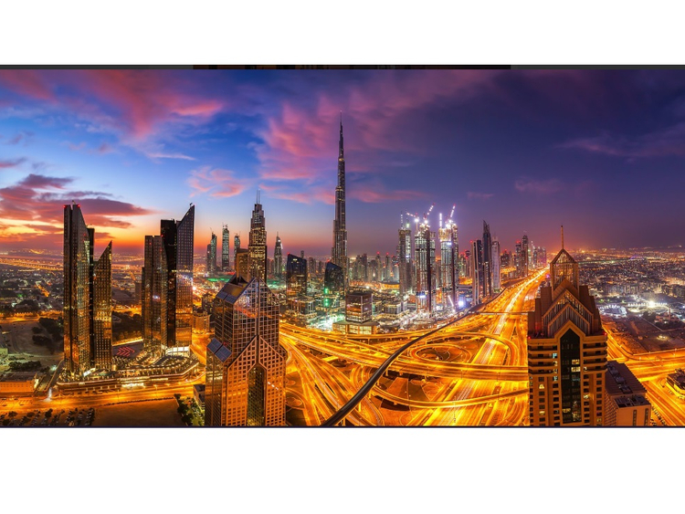 The Dubai skylne 091