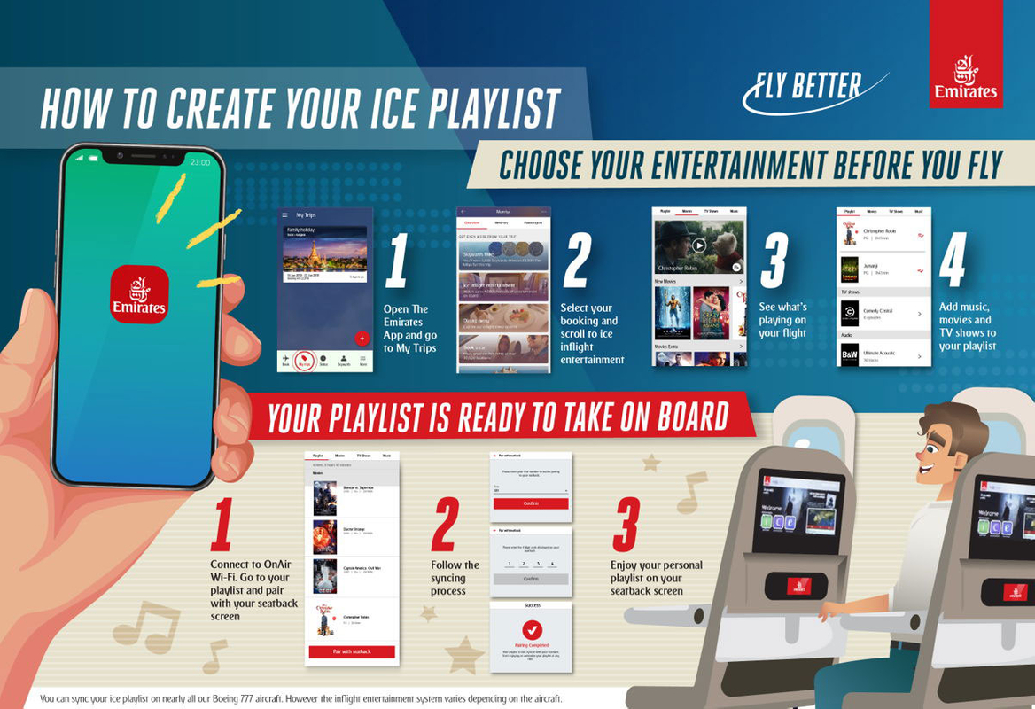 emirates playlist