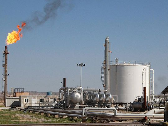 A Dana Gas plant in Iraq