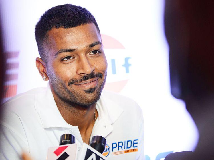 Indian cricketer Hardik Pandya