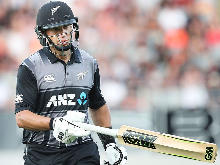 New Zealand's Ross Taylor 7