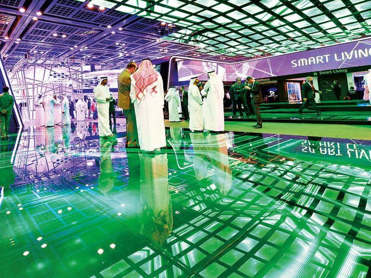 The etisalat stand at Gitex Innovation Week