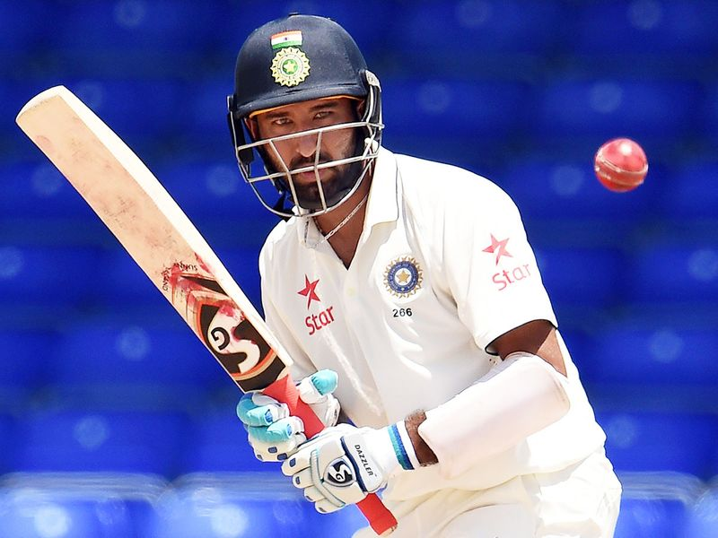 Indian cricketer Cheteshwar Pujara 8