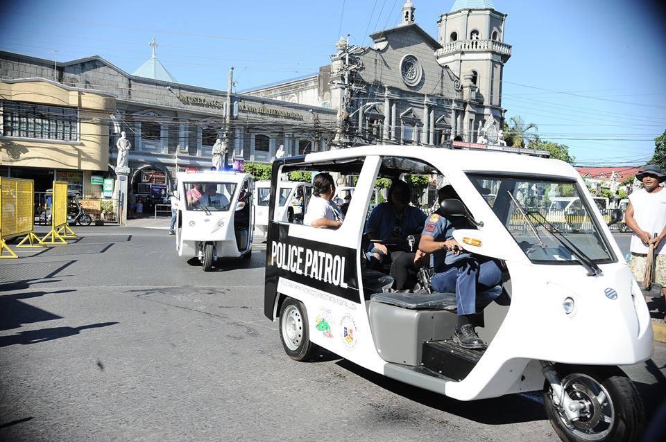 e-trike police patrol