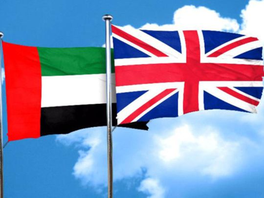 uae uk flags
