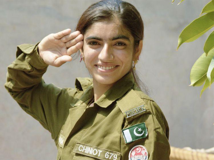 Police constable Samina Noreen 2